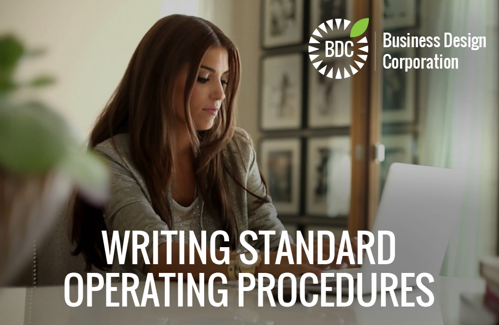 writing standard operating procedure