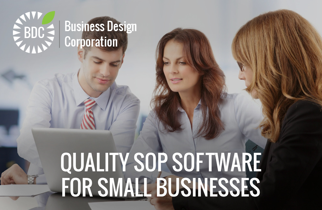 quality sop software for small business